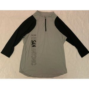 San Antonio Spurs Womens Shirt Size 2XL Gray NEW